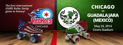 Earlier this year, Chicago hosted the Guadalajara, the Mexican national champions, in a highly publicized USARS game.