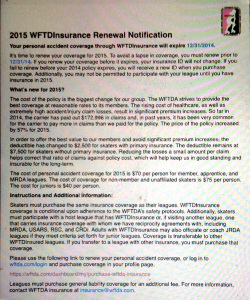 The notification, as emailed to member and non-member skaters.