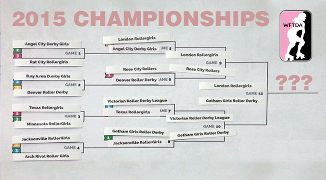 Projecting the 2015 WFTDA Division 1 Championships