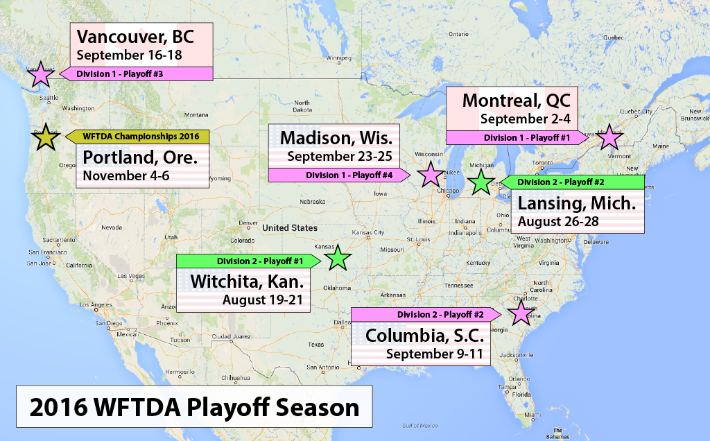 wftda-playoffs-2016-locations-dates