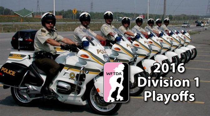 WFTDA 2016 Division 1 Playoffs: Quebec's Language Police