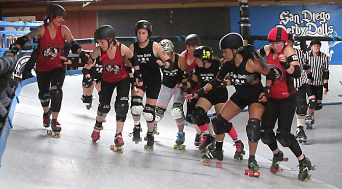 Better Daze Ahead for Banked Track Roller Derby