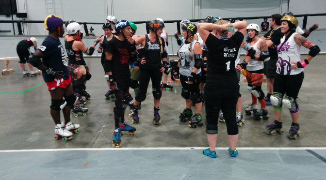 That Time They Played WFTDA Derby on the Banked Track