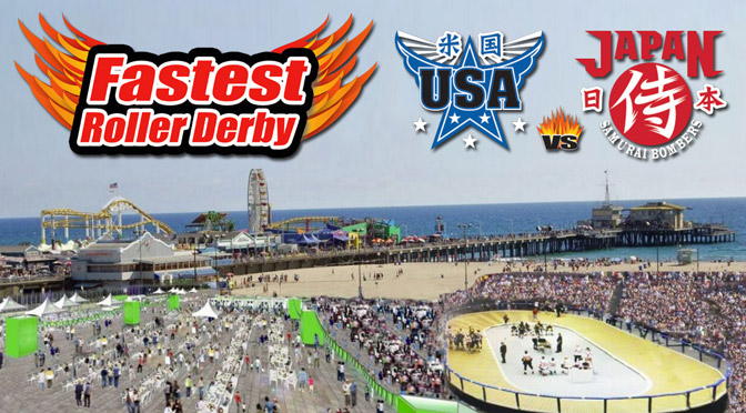 Japan's Rollergames Invade Los Angeles With Exhibition Series, Festival