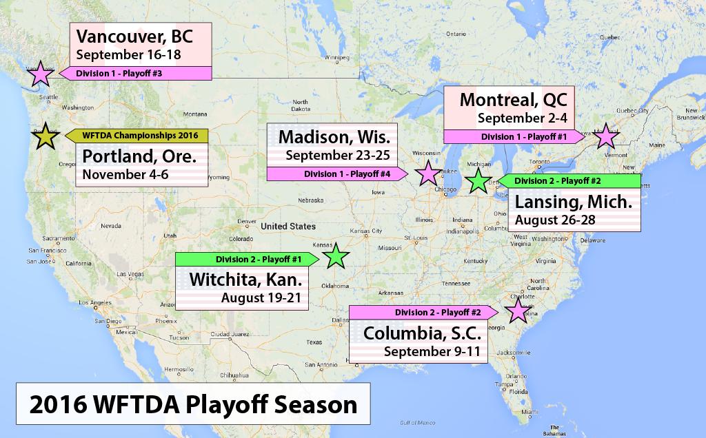 wftda-playoffs-2016-locations-dates