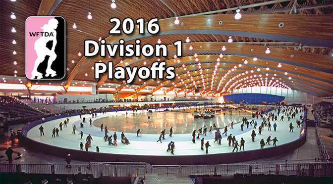 WFTDA 2016 Division 1 Playoffs: Vancouver Gold (and Silver and Bronze)
